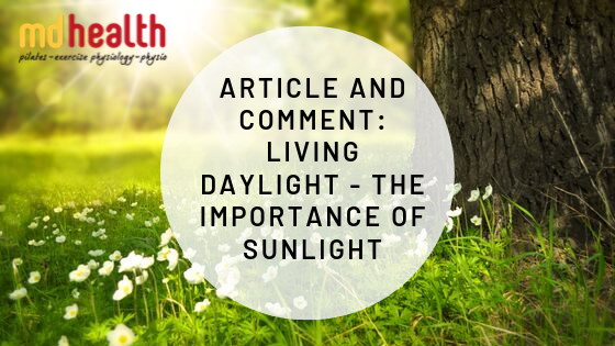 the importance of sunlight