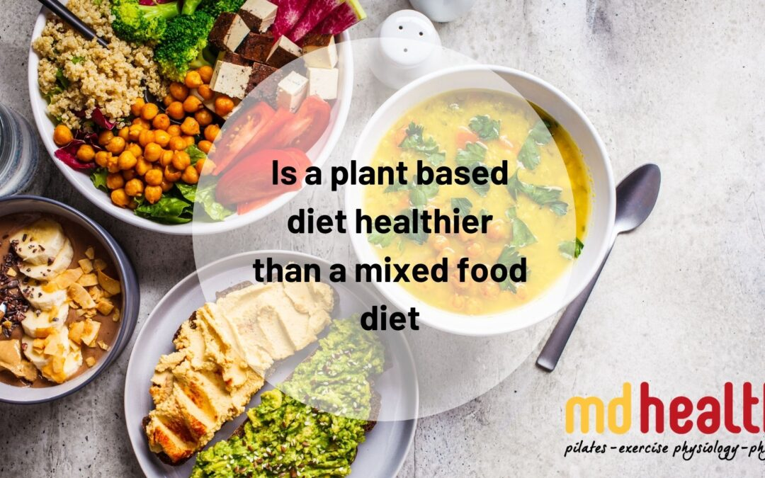Is a plant based diet healthier than a mixed food diet
