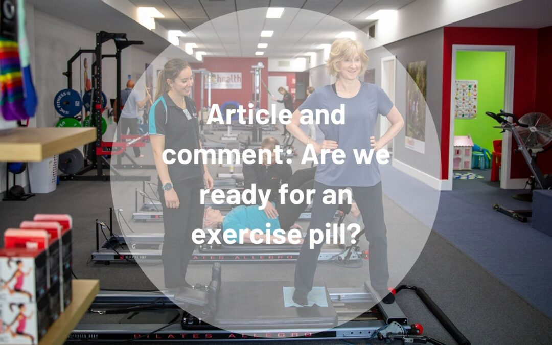 Article and comment Are we ready for an exercise pill