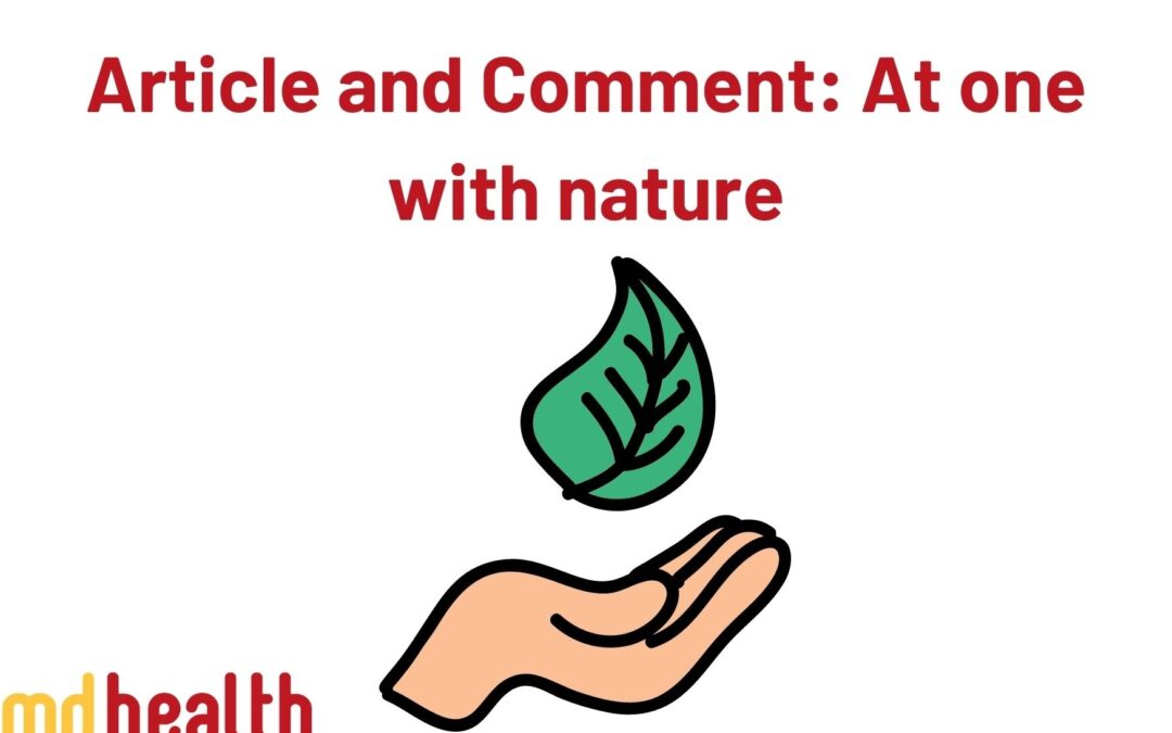 Article and comment – At one with nature