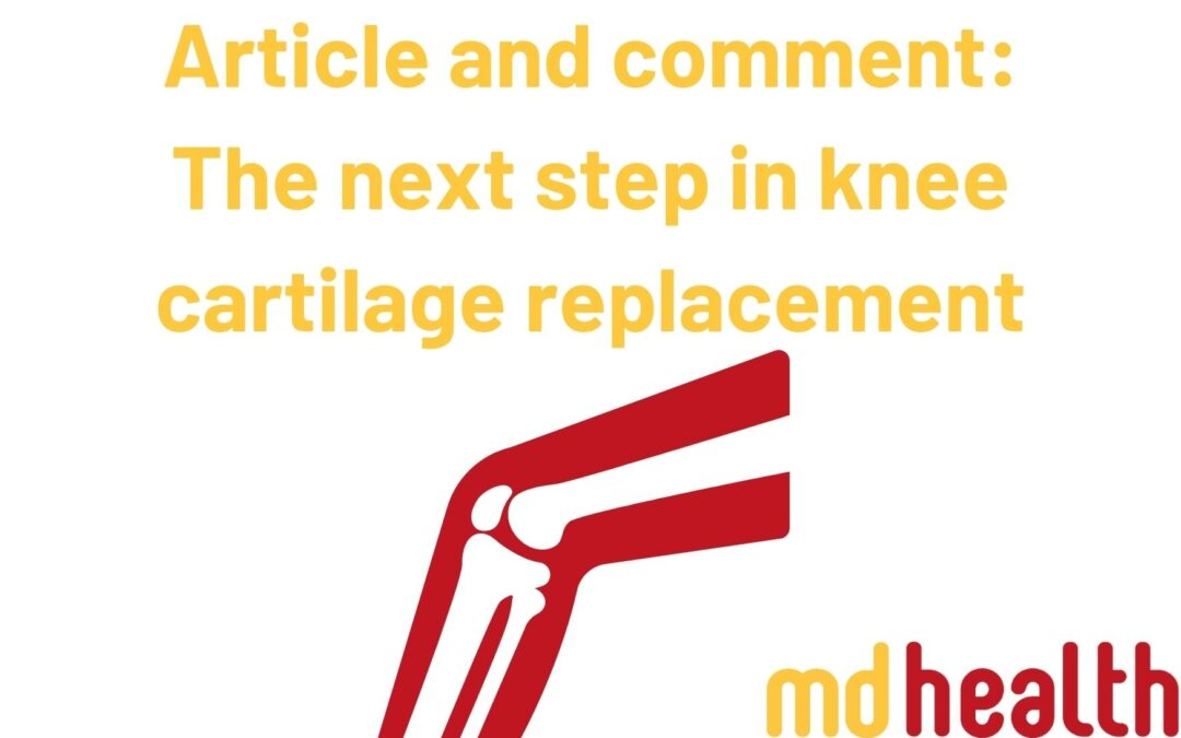 Article and comment – The next step in knee cartilage replacement